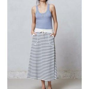 Anthropologie Saturday Sunday ninette maxi skirt